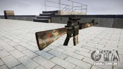 O M16A2 rifle [óptica] berlim para GTA 4 segundo screenshot