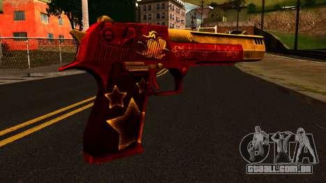Natal Desert Eagle para GTA San Andreas segunda tela