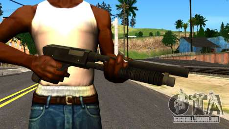 Combat Shotgun from GTA 4 para GTA San Andreas terceira tela