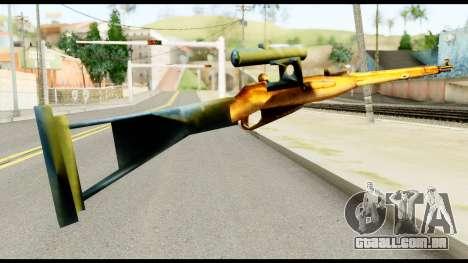 Mosin Nagant from Metal Gear Solid para GTA San Andreas