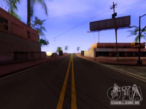 Melhoria da textura de estradas para GTA San Andreas segunda tela
