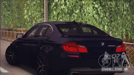 BMW M550d 2014 para GTA San Andreas vista direita