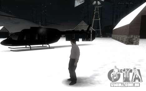 Snow Mod para GTA San Andreas segunda tela
