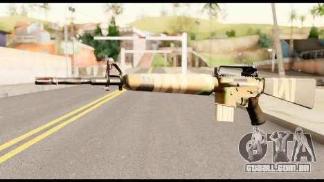 M16 from Metal Gear Solid para GTA San Andreas