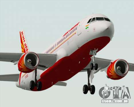 Airbus A320-200 Air India para o motor de GTA San Andreas