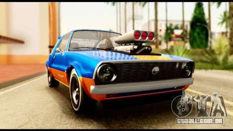 Declasse Rhapsody from GTA 5 para GTA San Andreas