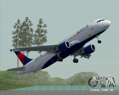 Airbus  A320-200 Delta Airlines para GTA San Andreas