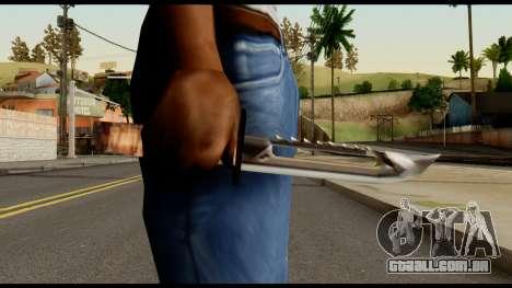 Survival Knife from Metal Gear Solid para GTA San Andreas terceira tela
