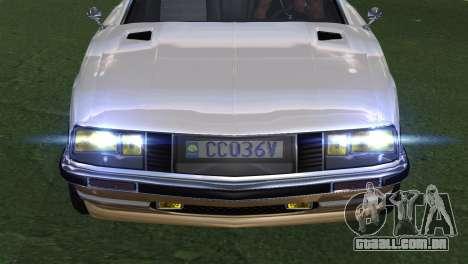 GTA 5 Lampadati Pigalle (IVF) para GTA San Andreas vista traseira