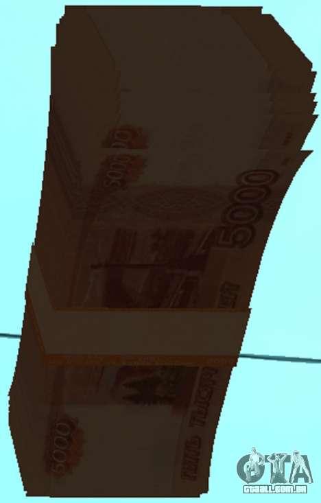 5000 rublos para GTA San Andreas terceira tela