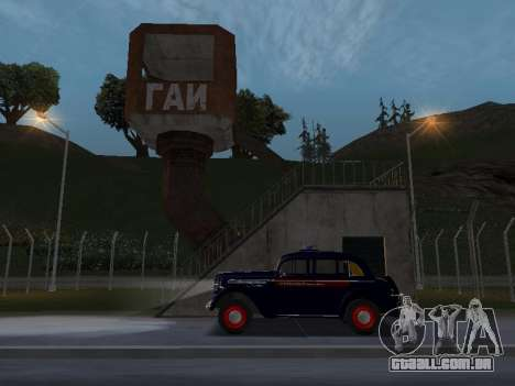 Moskvich 400 Policiais para GTA San Andreas
