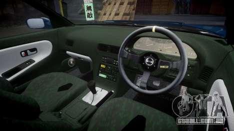 Nissan Silvia S13 1JZ para GTA 4 vista lateral