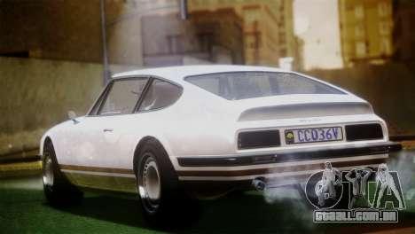 GTA 5 Lampadati Pigalle (IVF) para GTA San Andreas esquerda vista