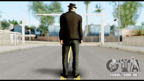 Heisenberg from Breaking Bad v2 para GTA San Andreas segunda tela