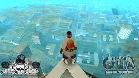 C-HUD Gueto Quarto para GTA San Andreas segunda tela