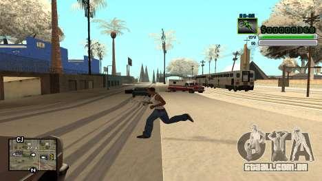 C-HUD v5.0 para GTA San Andreas segunda tela