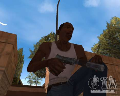 Ano novo Pack de Armas para GTA San Andreas