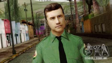 Police Skin 8 para GTA San Andreas terceira tela