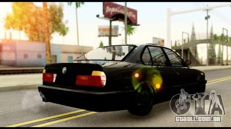 BMW E32 para GTA San Andreas esquerda vista