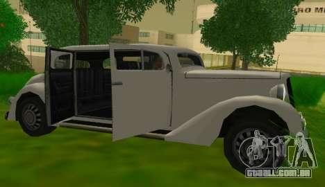 Hustler Limousine para GTA San Andreas vista direita