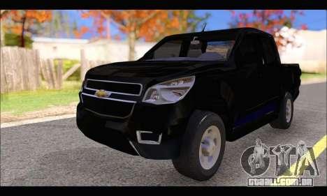Chevrolet S10 LS 2014 para GTA San Andreas