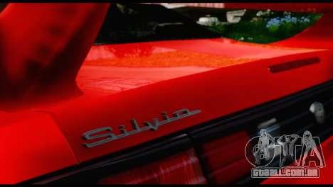 Nissan Silvia S14 Ks para GTA San Andreas vista direita
