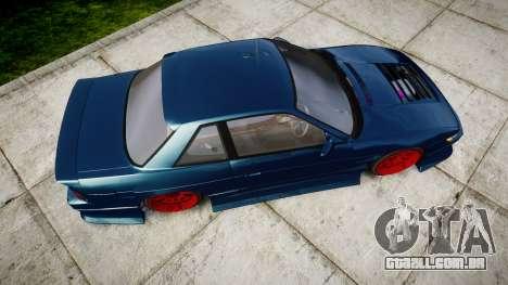 Nissan Silvia S13 1JZ para GTA 4 vista direita