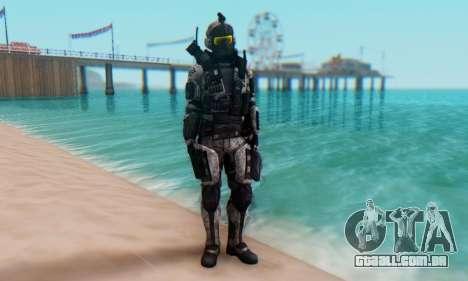 C.E.L.L. Soldier (Crysis 2) para GTA San Andreas segunda tela
