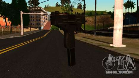 Micro SMG from GTA 4 para GTA San Andreas segunda tela