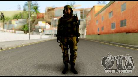 Engineer from Battlefield 4 para GTA San Andreas