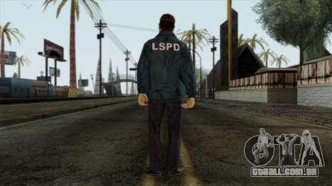 Police Skin 9 para GTA San Andreas segunda tela