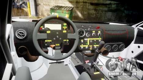 Ferrari F430 GT 2011 Pacific NAC Ikamusume para GTA 4 vista de volta