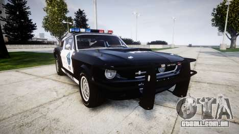 Ford Shelby GT500 Eleanor Police [ELS] para GTA 4