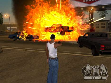 Realistic Effect 3.0 Final Version para GTA San Andreas segunda tela