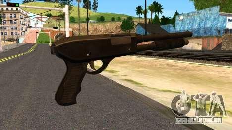 Combat Shotgun from GTA 4 para GTA San Andreas segunda tela