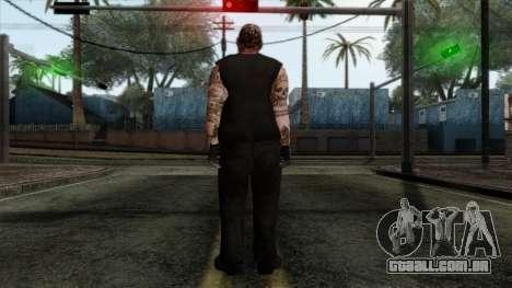 GTA 4 Skin 43 para GTA San Andreas segunda tela