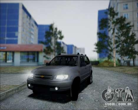 Chevrolet Niva para GTA San Andreas vista direita