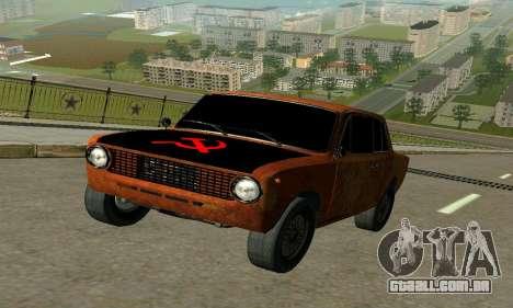 VAZ 2101 Ratlook v2 para GTA San Andreas esquerda vista