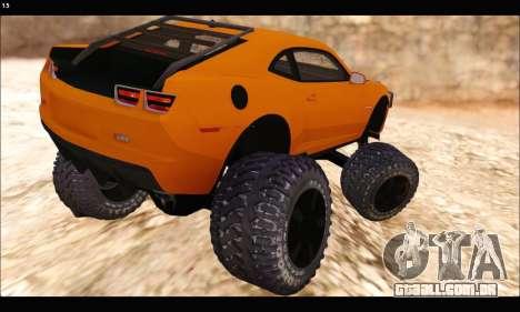 Chevrolet Camaro SUV Concept para GTA San Andreas vista direita
