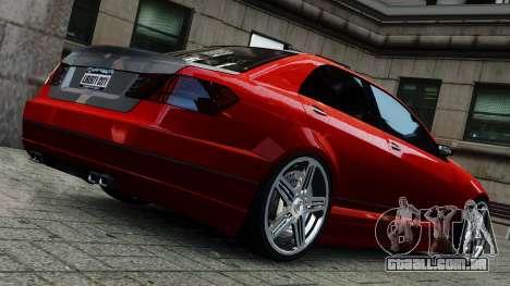 Schafter Gen. 2 Grey Series para GTA 4 esquerda vista