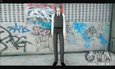 Kaneki Ken (Tokyo Ghoul) para GTA San Andreas segunda tela