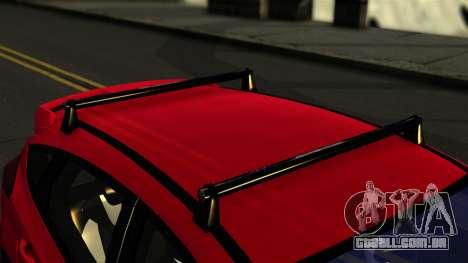 Ford Focus ST para GTA San Andreas vista traseira