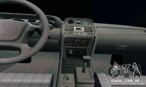 Mitsubishi Pajero Intercooler Turbo 2800 para GTA San Andreas vista direita