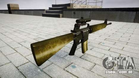 O M16A2 rifle [óptica] de azeite para GTA 4 segundo screenshot