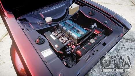 Ford Escort Mk1 para GTA 4 vista de volta