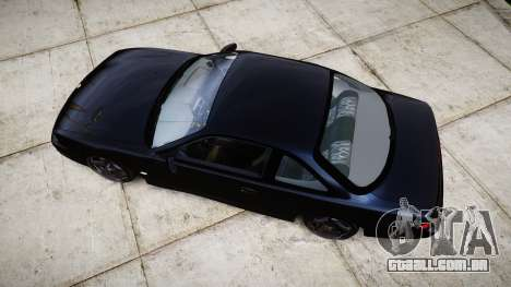 Nissan Silvia S14 Kouki Hellaflush para GTA 4 vista direita