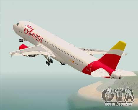 Airbus A320-200 Iberia Express para GTA San Andreas