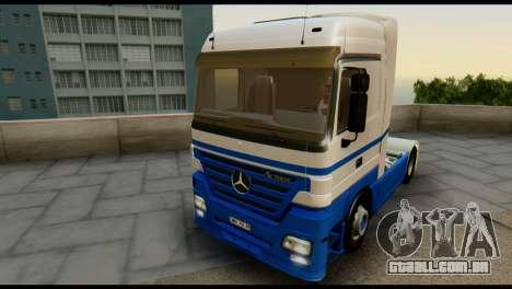 Mercedes-Benz Actros PJ1 para GTA San Andreas vista superior