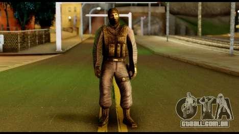 Counter Strike Skin 4 para GTA San Andreas