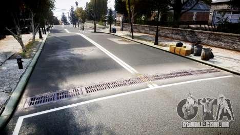 Textura estradas de alta definição 2014 v1.2 para GTA 4